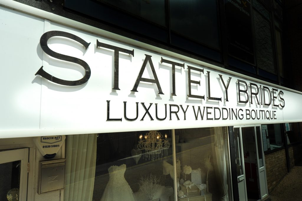 Stately Brides exterior on King Street in Belper
