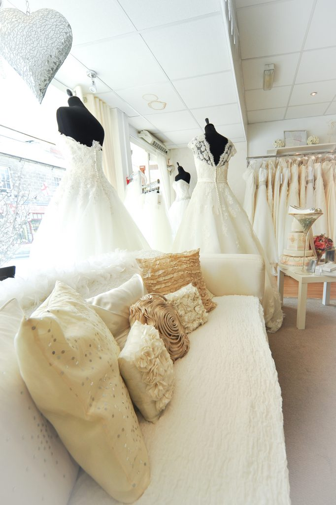 Window of Stately Brides in Belper