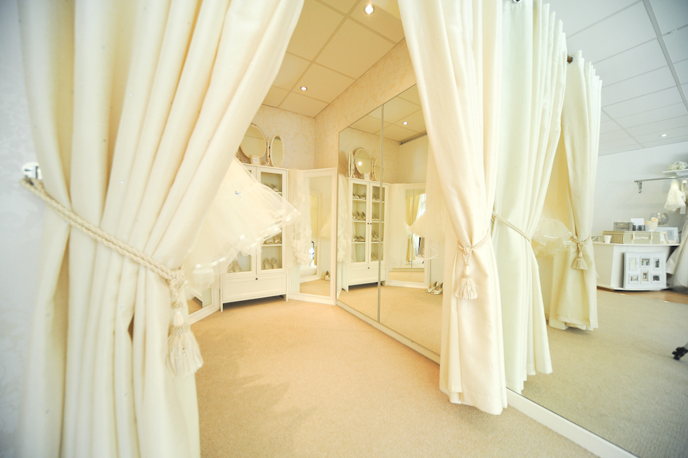 Dressing Area of Stately Brides in Belper